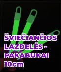 Šviečiančios lazdelės - pakabukai 10 cm