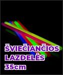 Šviečiančios lazdelės 35 cm