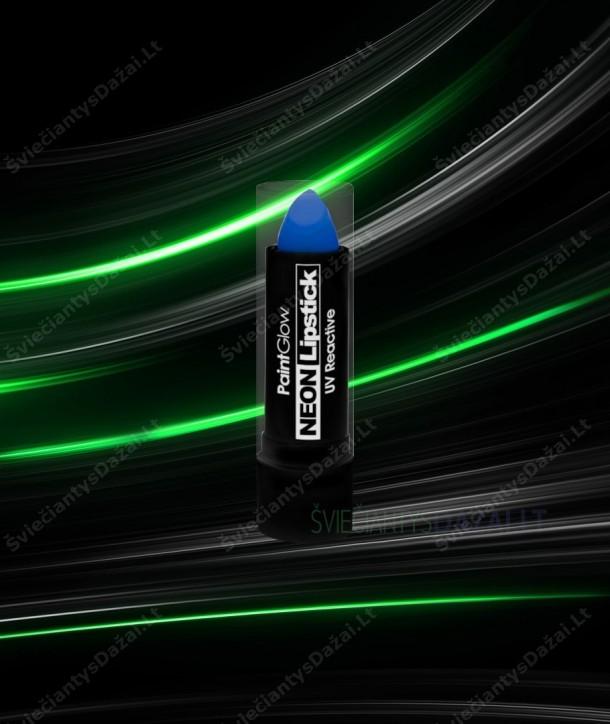 Šviečiantys UV lūpų dažai