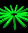 Žalios šviečiančios lazdelės - pakabukai 25 vnt. pakuotė