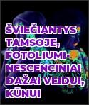 Šviečiantys tamsoje, fotoliuminescenciniai dažai veidui, kūnui